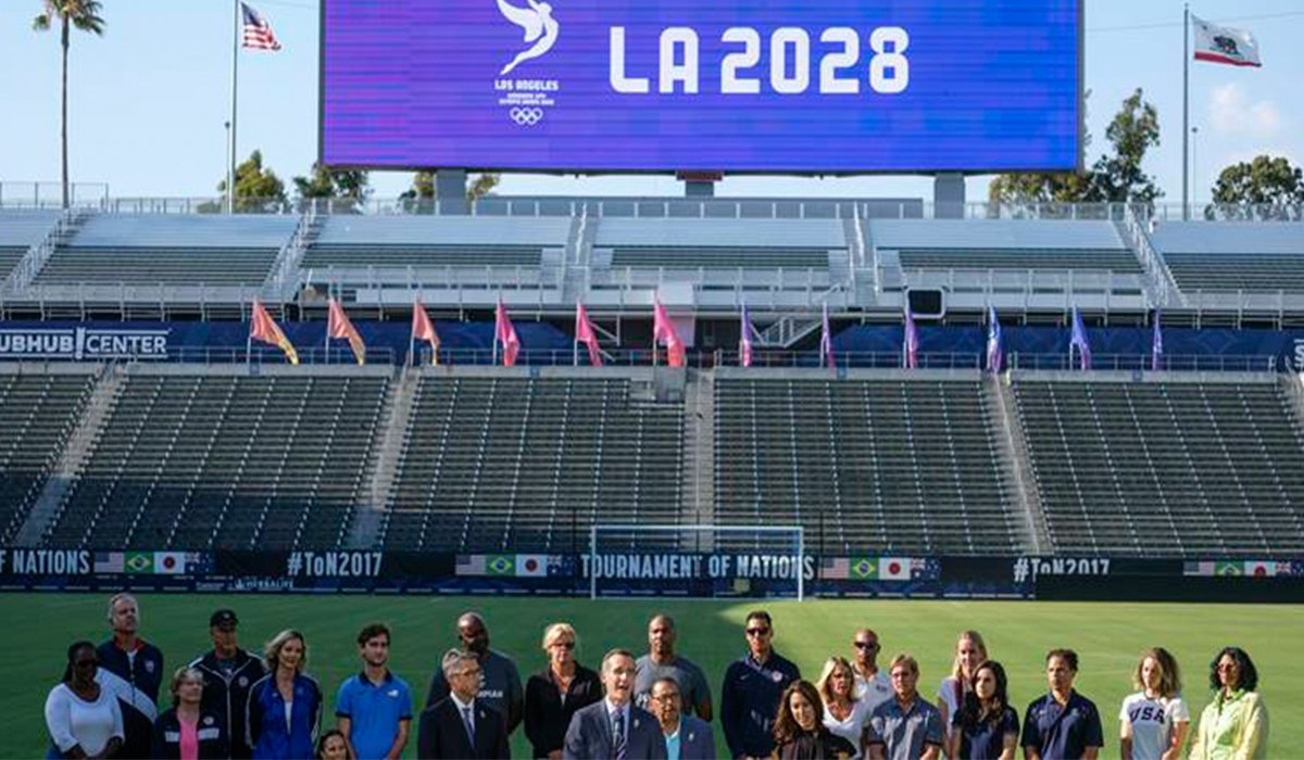Los Angles Will Host The 2028 Summer Games