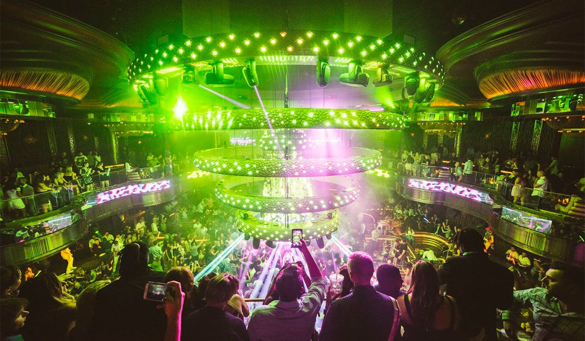 Omnia Night Club In Las Vegas Caesars Palace