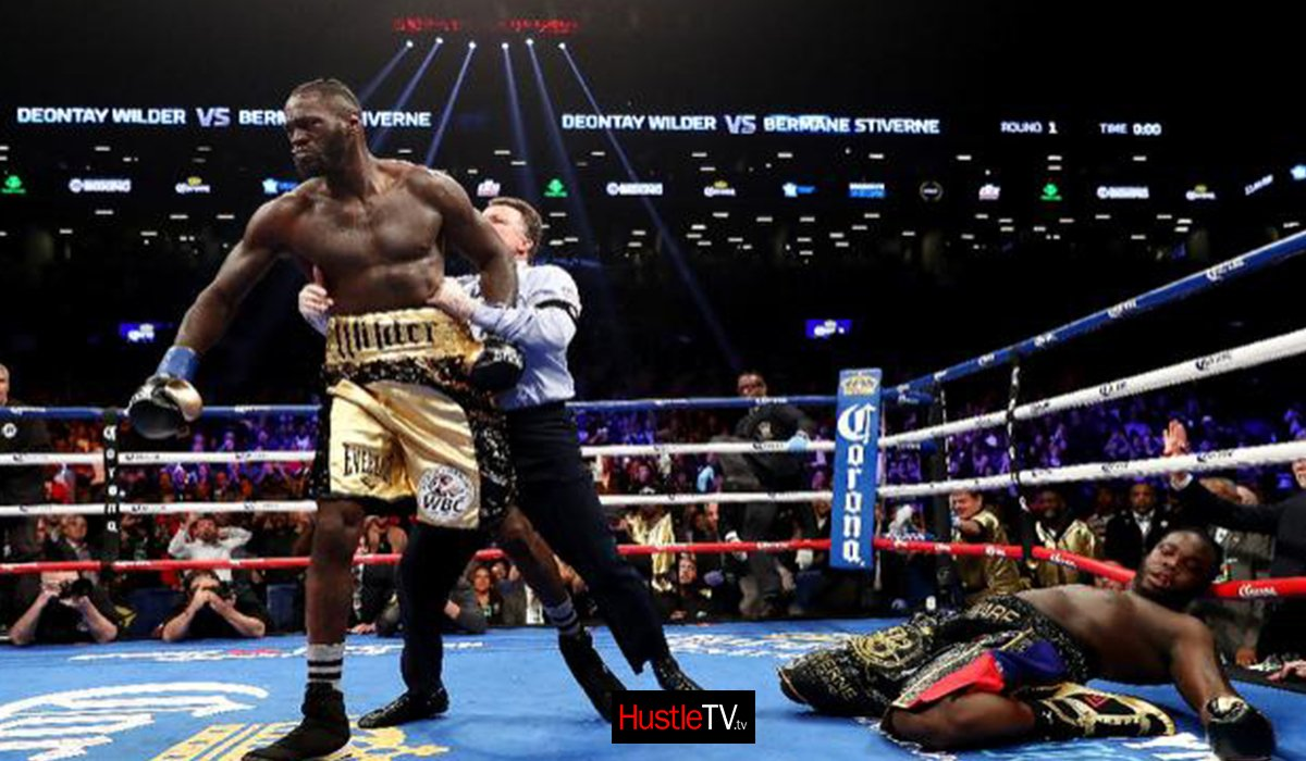 Deontay Wilder destroyed Bermane Stiverne By KO www.HustleTV.tv DJ Hustle Hustle Actor