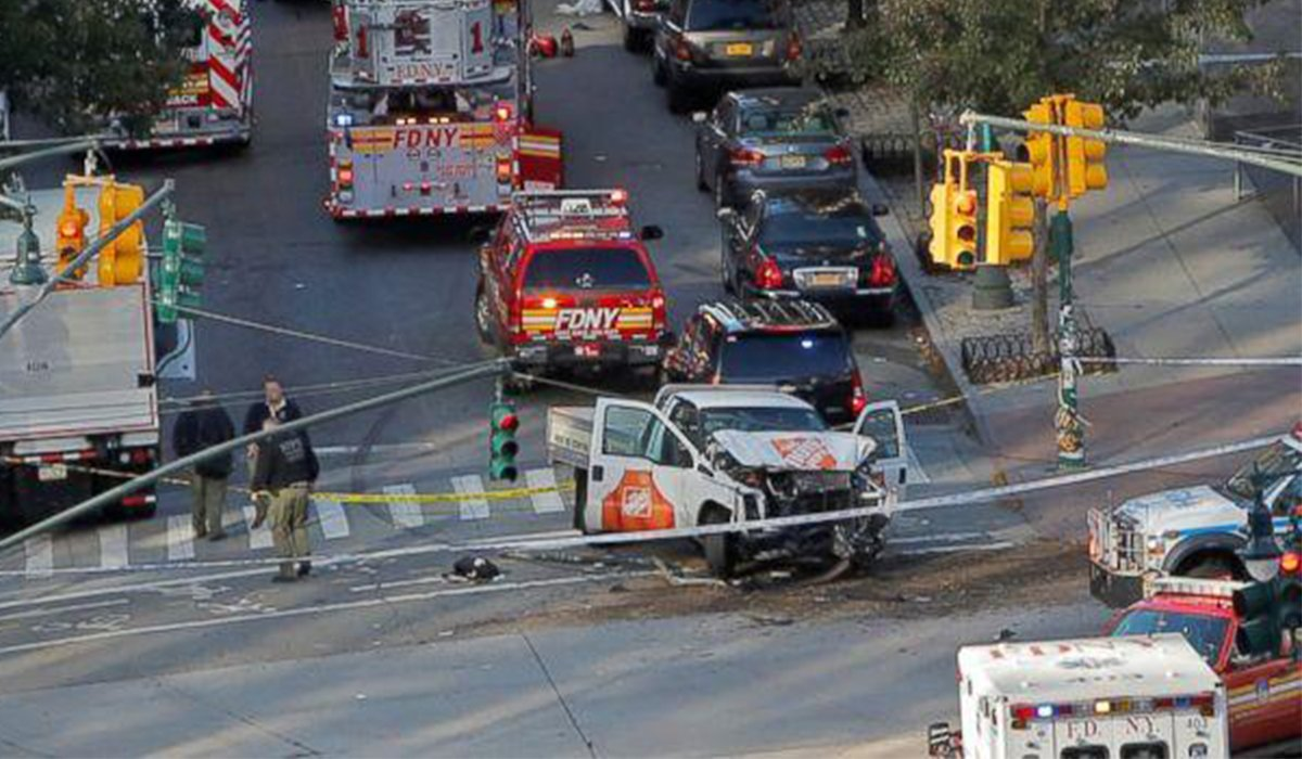 Truck Plows Into People In New York City 8 Dead www.HustleTV.tv DJ Hustle