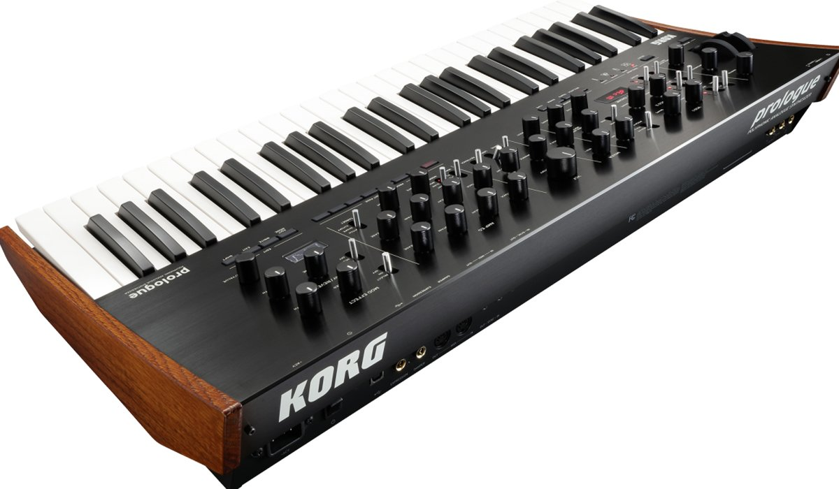 A Generation Of Flagship Analog Synthesizer Korg Presents Prologue 16 Hustle www.HustleTV.tv DJ Hustle
