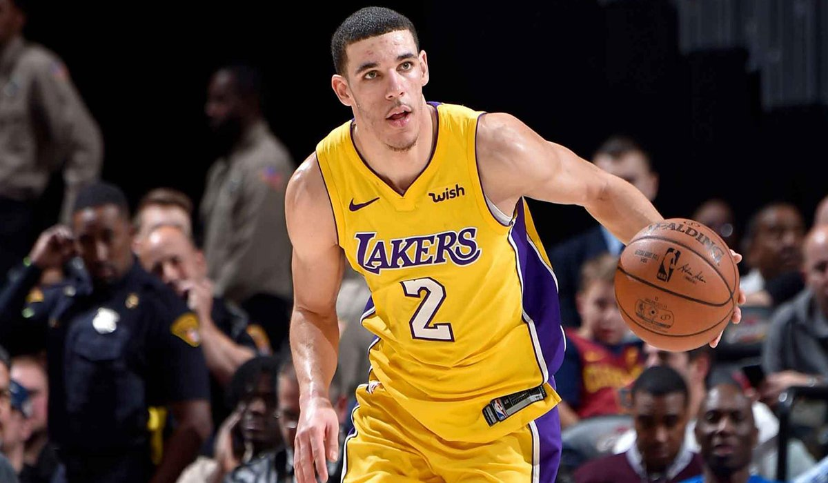 Los Angeles Lakers Lonzo Ball Say He's Happy To Be Back www.HustleTV.tv