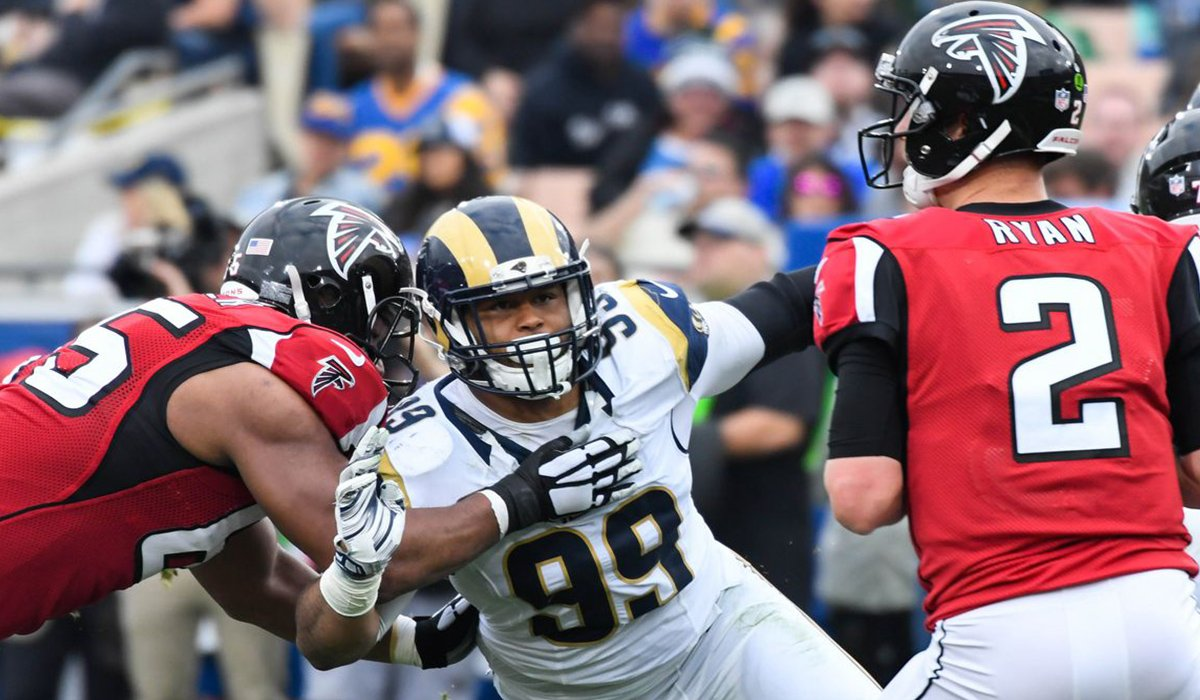 Los Angeles Rams Season Ends Early With Loss To Falcons www.HustleTV.tv