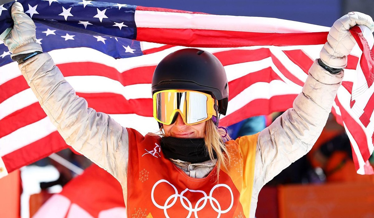 Jamie Anderson Wins Gold Medalist In Snowboard Slopestyle www.HustleTV.tv Hustle DJ Hustle