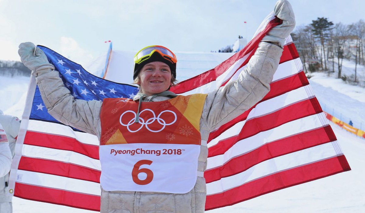 Red Gerard Team USA First Gold Metalist 2018 Winter Olympics www.HustleTV.tv Hustle DJ Hustle