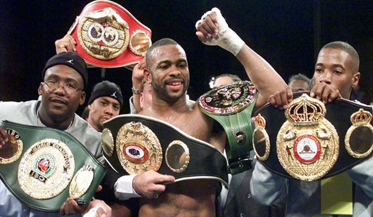 Roy Jones Jr. Goes Out With A Win Over Scott Sigmon By Decision www.HustleTV.tv DJ Hustle Hustle