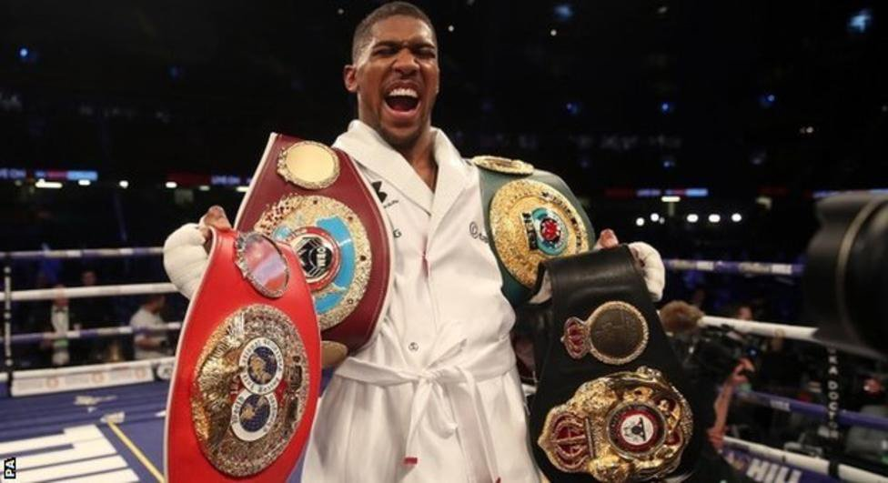 HustleTV.tv-Anthony Joshua Defeats Joseph Parker For WBO world heavyweight Title DJ Hustle Hustle