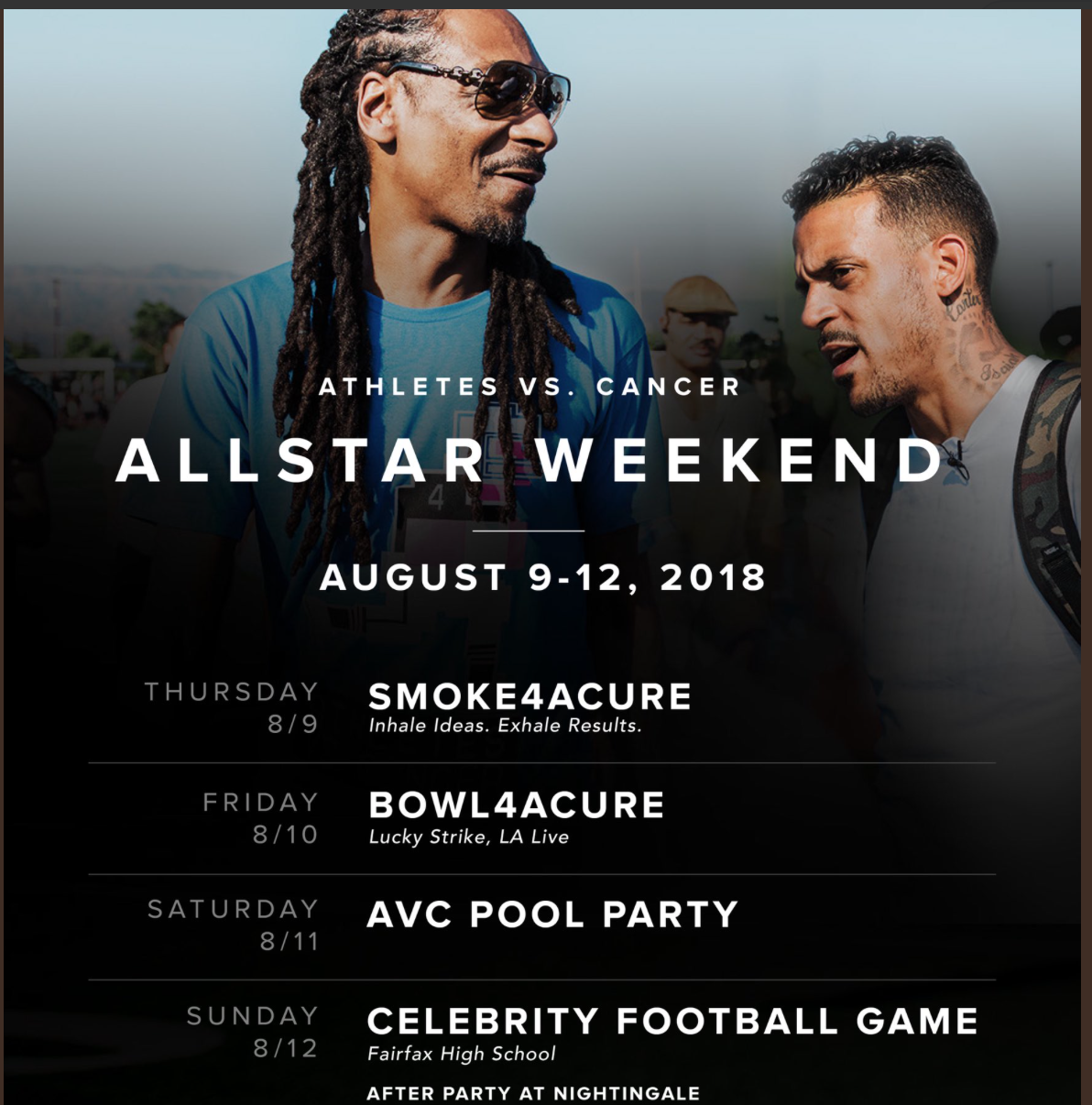 HustleTV.tv-Matt-Barnes-Snoop-Dogg-Athletes-vs-Cancer