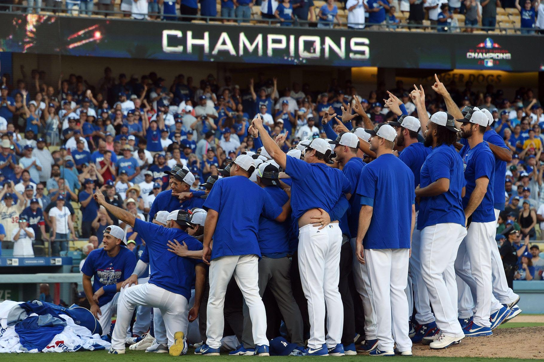HustleTV.tv- Los Angeles Dodgers Winning The NL West