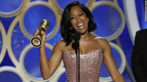 HustleTV.tv Regina King's Inspiring Golden Globe Speech DJ Hustle