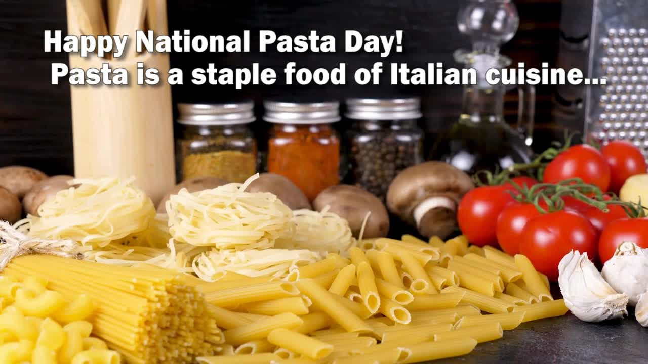 Celebrate National Pasta Day THE HEALTHY WAY