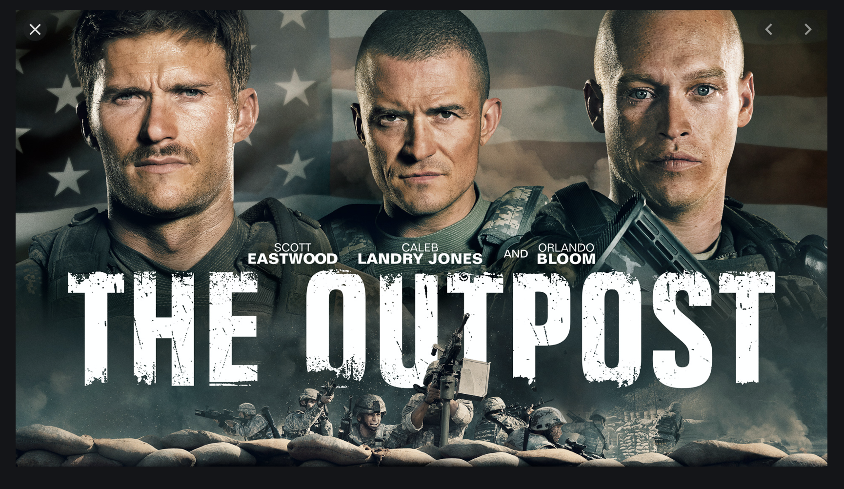 HustleTV.tv HustleTV DJ Hustle Hustle Harrowing War Drama The Outpost Now Streaming on Netflix