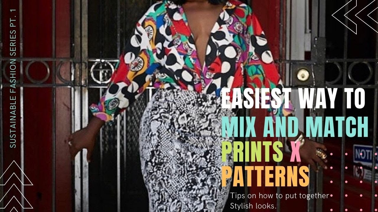 HustleTV HustleTV.tv How to Mix and Match Prints to Create an Eye Catching Attire DJ Hustle