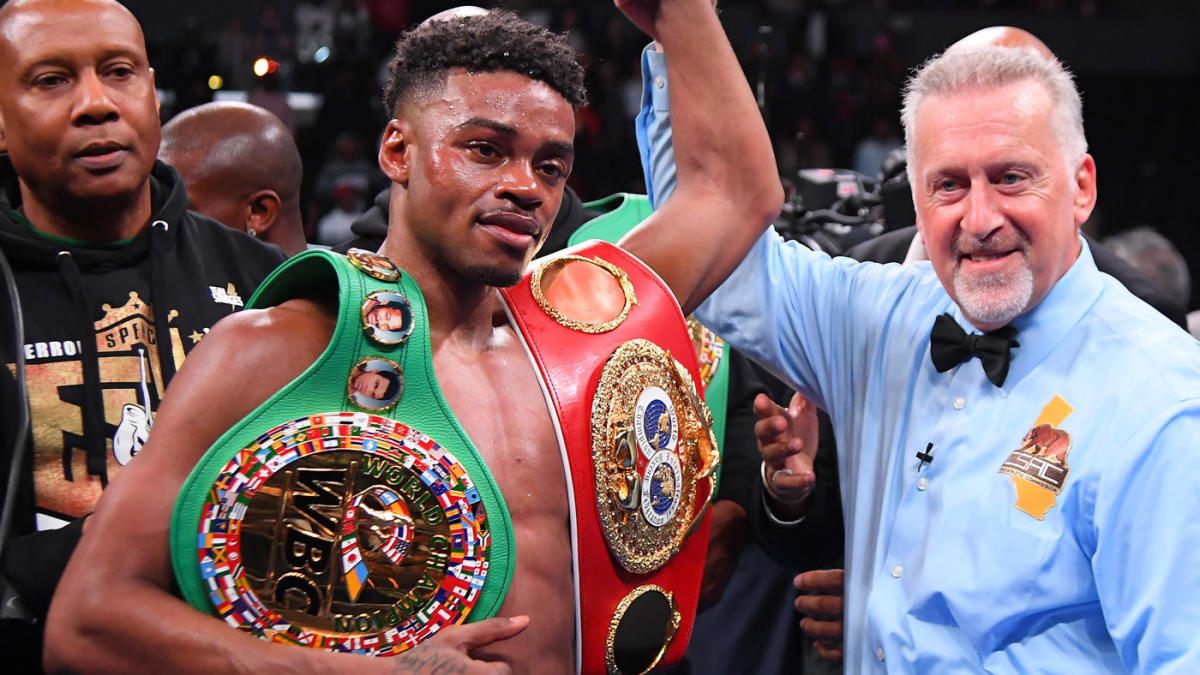 HustleTV.tv DJ hustle Errol Spence defeats Danny Garcia HustleTV