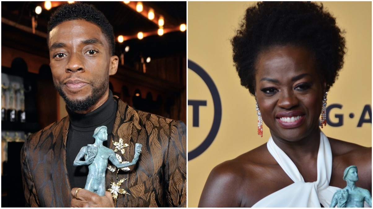 Chadwick Boseman and Viola Davis Receive Golden Globe Nominations Hustletv