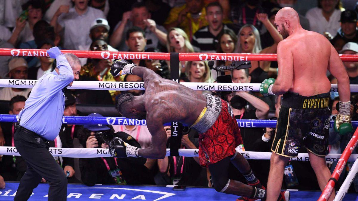 Tyson Fury Recap of Knocking Out Deontay Wilder